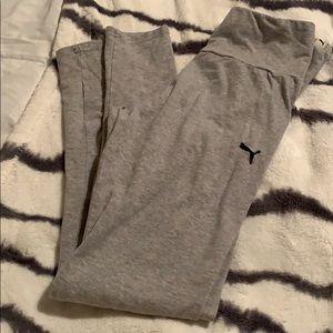 Gray puma leggings
